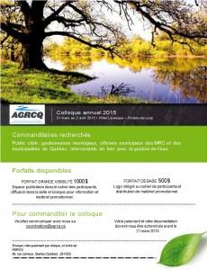 AGRCQ Formulaire_Commanditaires 2015