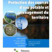 colloque protection eau potable